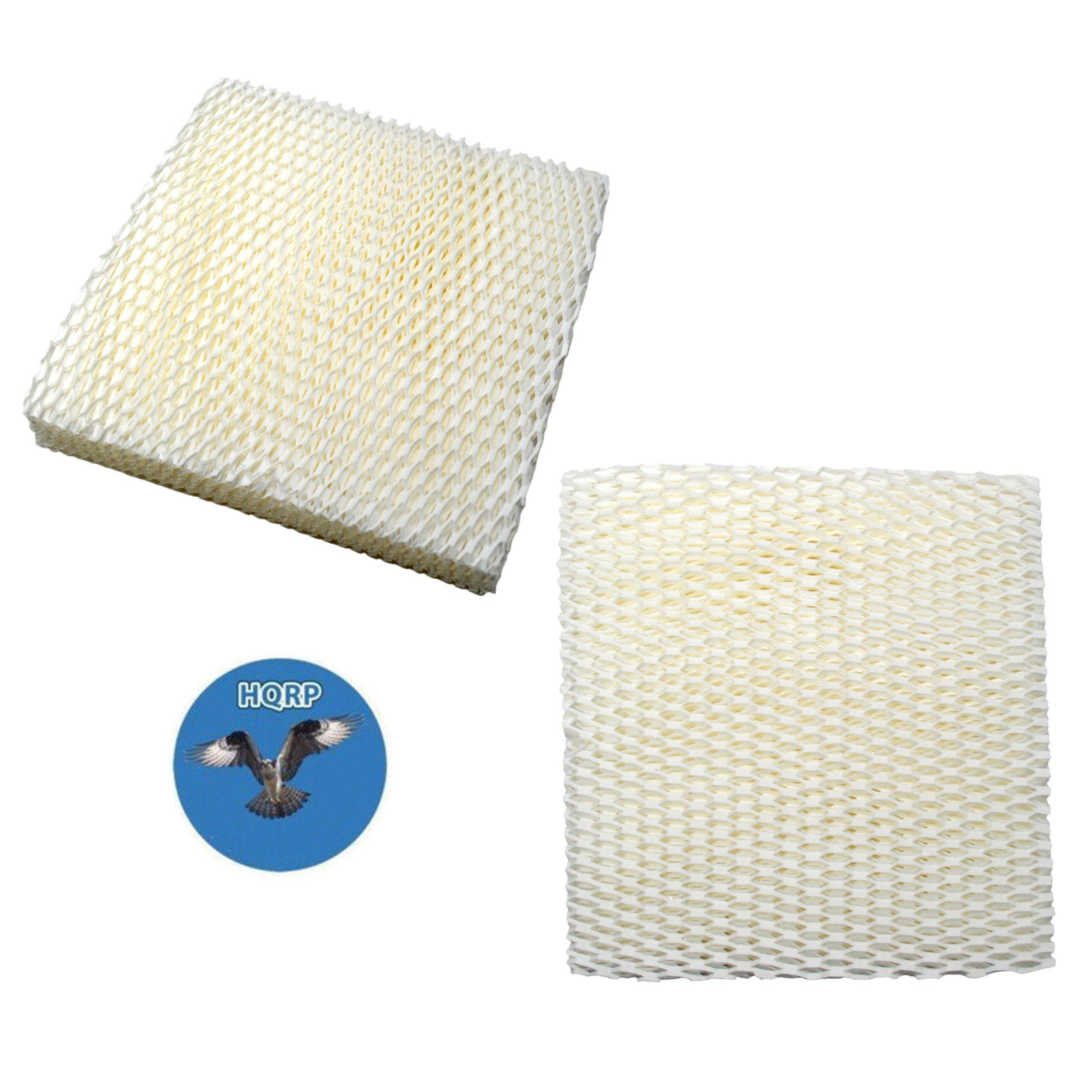 HQRP Wick Filter (2-pack) for Duracraft DH803 / DH804 / DH805 / DH806 / DH807 / DH810 / DH815 / DA1007 Natural Cool Moisture Humidifier, AC-809 / D09-C / AC-815 Replacement + HQRP Coaster