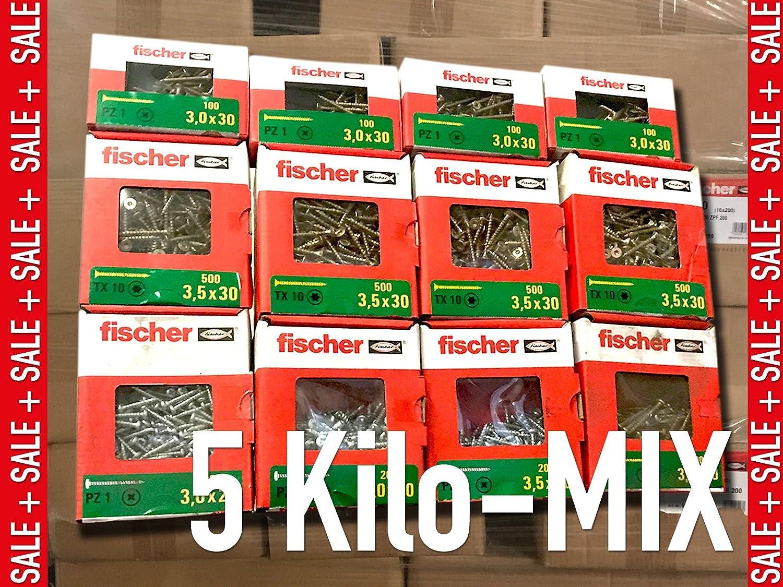 /Divers marque Vis/ /Pack d// filetage partiel T/ête frais/ée Torx plein//agglo 5/kg Vis Mix/
