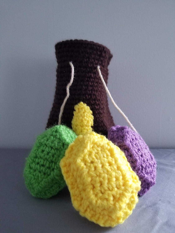 Crocheted LoZ Wallet//Rupee Bag