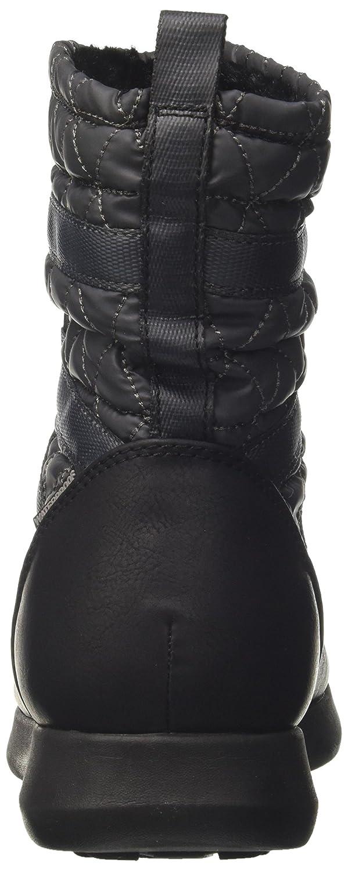 Skechers Damen Boulder Stiefel Grau (Charcoal/Black)
