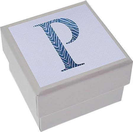 White Cotton Cards Alphabetics, Mini Caja, P Inicial, Varios: Amazon.es: Hogar