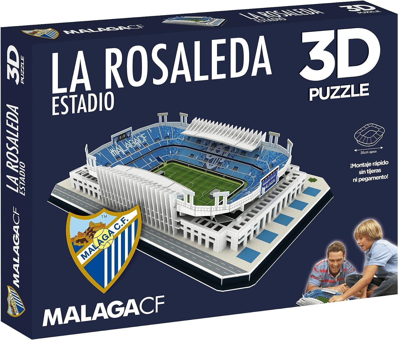 Eleven Force Puzzle Estadio 3D La Rosaleda (Málaga CF) (63461), Multicolor, Ninguna (1): Amazon.es: Juguetes y juegos
