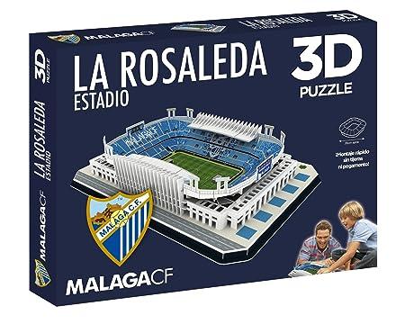 Eleven Force Puzzle Estadio 3D La Rosaleda (Málaga CF) (63461), Multicolor, Ninguna (1)