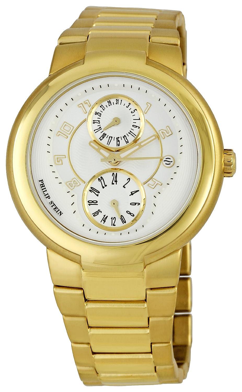 Philip Stein – 31-agw-gss Damen-Armbanduhr 045J699 Analog weiß Armband ROSEGOLD