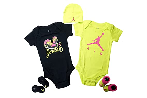 outlet store sale cee49 ee15e Set Nike Air Jordan bébé, 5 Pieces (0-6 mois) (0