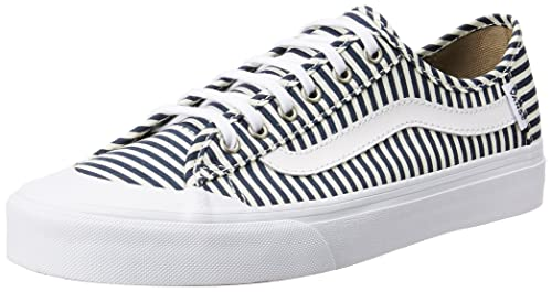 09ca90f7c470b0 Vans Women s Black Ball Sf Navy and Stripes Sneakers - 6.5 UK India ...