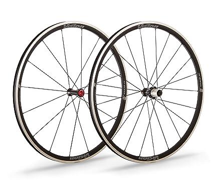 Vision 2 ruedas Trimax 30 Clincher Pista Frenante Plata aro 30 mm Shimano (2 ruedas