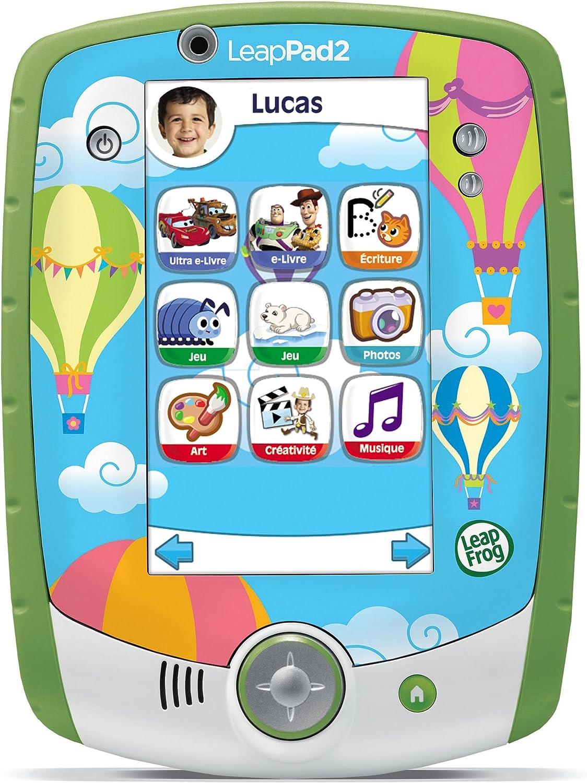 Leapfrog - 81407 - Jeu Educatif Electronique - Tablette Tactile Leappad 2+ Personnalisable - Vert Vert
