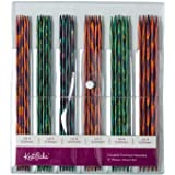"Knit Picks Double Pointed Wood Knitting Needle Set (Mosaic 8"")"