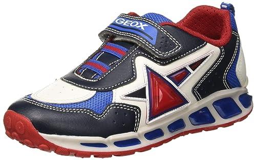 Geox J Shuttle Boy B, Zapatillas para Niños: Amazon.es: Zapatos y complementos
