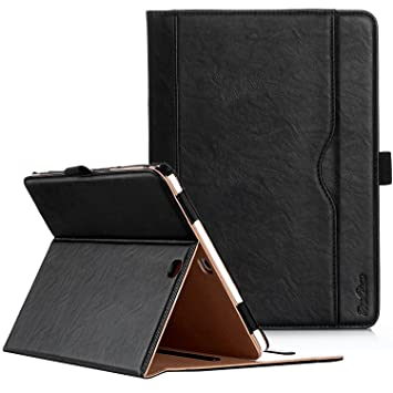 ProCase Galaxy Tab S2 9 7 Case - Leather Stand Folio Case Cover for Galaxy  Tab S2 Tablet (9 7 inch, SM-T810 T815 T813) -Black