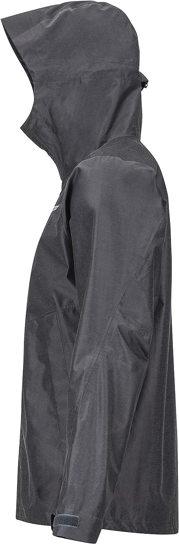 Marmot Men's Phoenix Jacket Hardshell Rain Jacket, Raincoat, Windproof, Waterproof, Breathable Grey (Dark Steel)