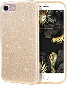 MILPROX Glitter case for iPhone SE (2020) iPhone 8 iPhone 7 4.7