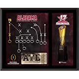 "Alabama Crimson Tide 12"" x 15"" College Football Playoff 2017 National Champions Game Winning Play Sublimated Plaque - Fanatics Authentic Certified-Best-Popular-Product"
