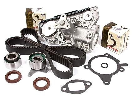 Evergreen TBK318WPT Fits 01-05 Kia Rio 1 5L & 1 6L DOHC 16V A5D A6D Timing  Belt Kit Water Pump
