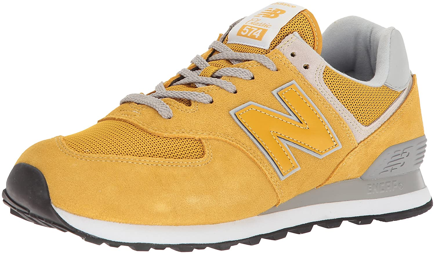 New Balance Herren Ml574E Sneaker,  38 EU|Gold/Ml574eyw)