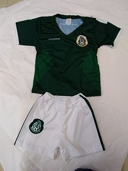 Seleccion Mexicana Trajecito MEXICO Outfit infant and toddler jersey (3-6 MONTHS)
