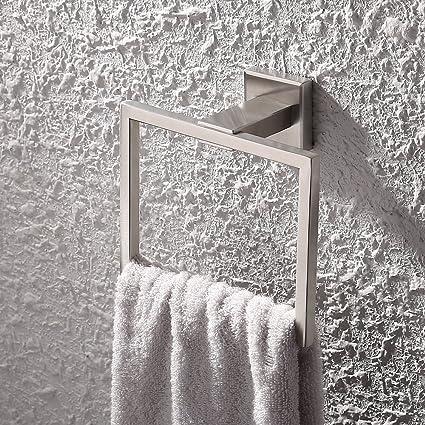 KES SUS 304 Stainless Steel Bath Towel Holder Hand Towel Ring