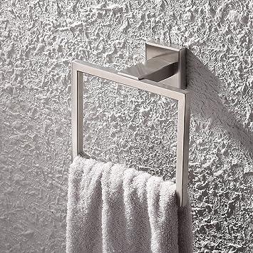 kes sus 304 stainless steel bath towel holder hand towel ring hanging towel hanger bathroom accessories - Bathroom Towel Holder