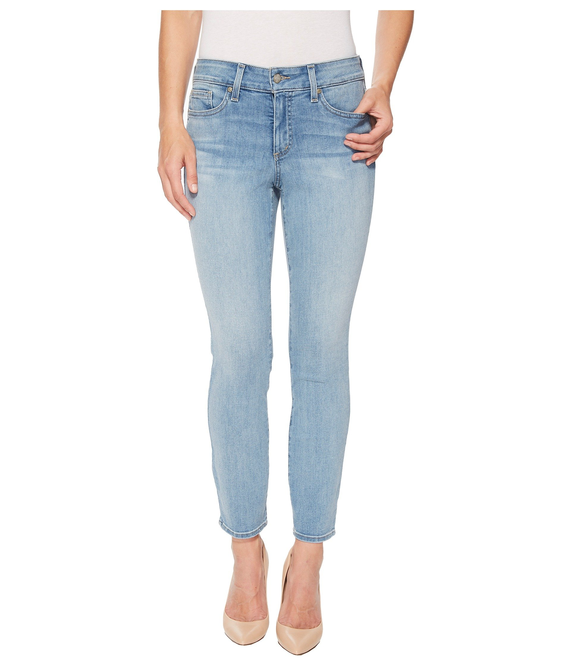 NYDJ Women's Petite Size Alina Ankle Jeans, Dreamstate, 14P