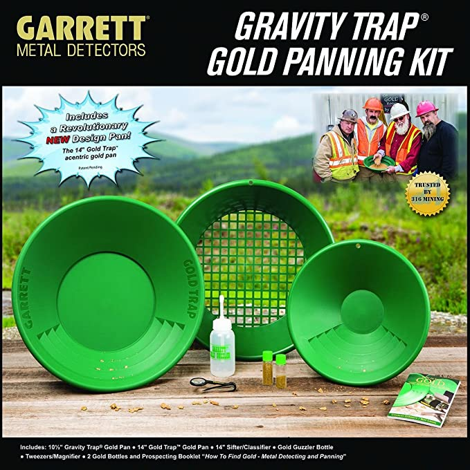 Garrett Gold Panning Kit