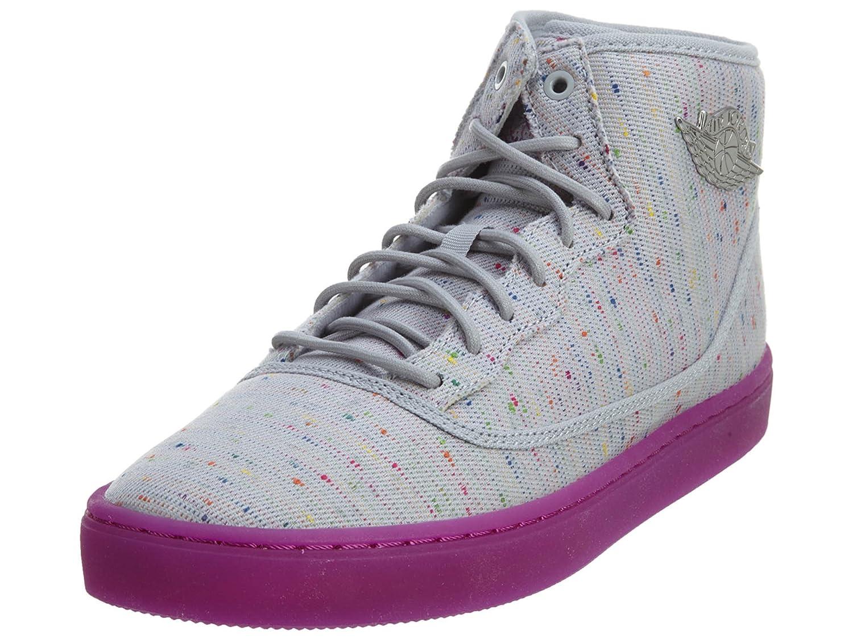 gris   Blanc   Violet (gris Loup   Blanc - Violet -Argenté Métallique) Nike Jordan Jasmine GG, Chaussures de Running Entrainement Fille 38 EU
