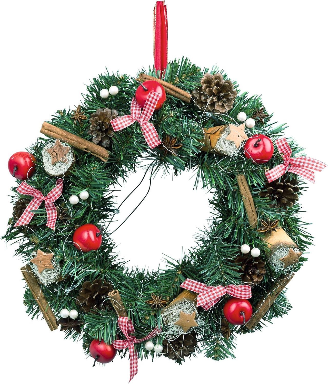 Türkranz Kaufen insatech led türkranz adventskranz weihnachtskranz beleuchtet