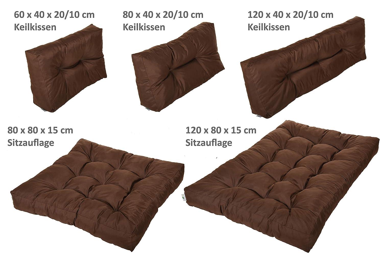 Patio Furniture Cushions & Pads Palettenkissen Palettensofa Palettenpolster Polster Auflage Kissen Sofa Fx22
