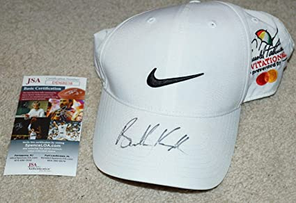 0e3197ed Image Unavailable. Image not available for. Color: BROOKS KOEPKA Signed  NIKE Golf ARNOLD PALMER HAT Masters Open + COA ...