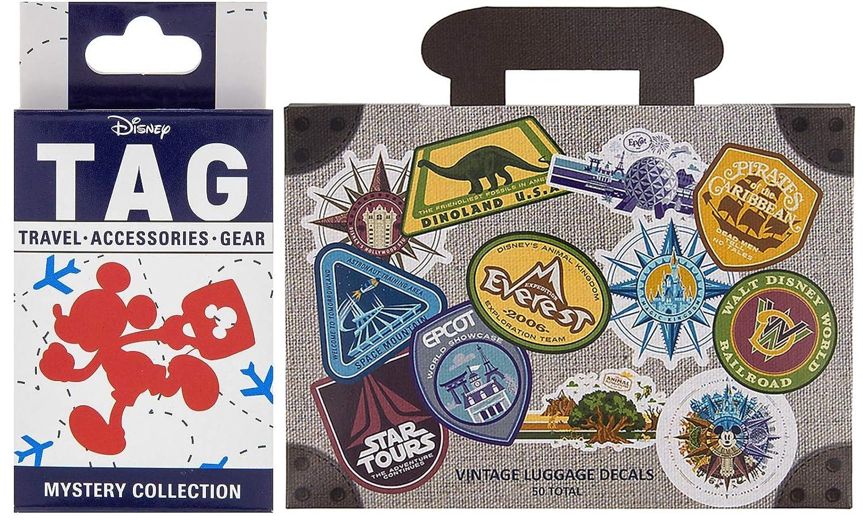a8bc2284afca Amazon.com: TAG World Traveller Decal Sticker Disney Set Exclusive ...