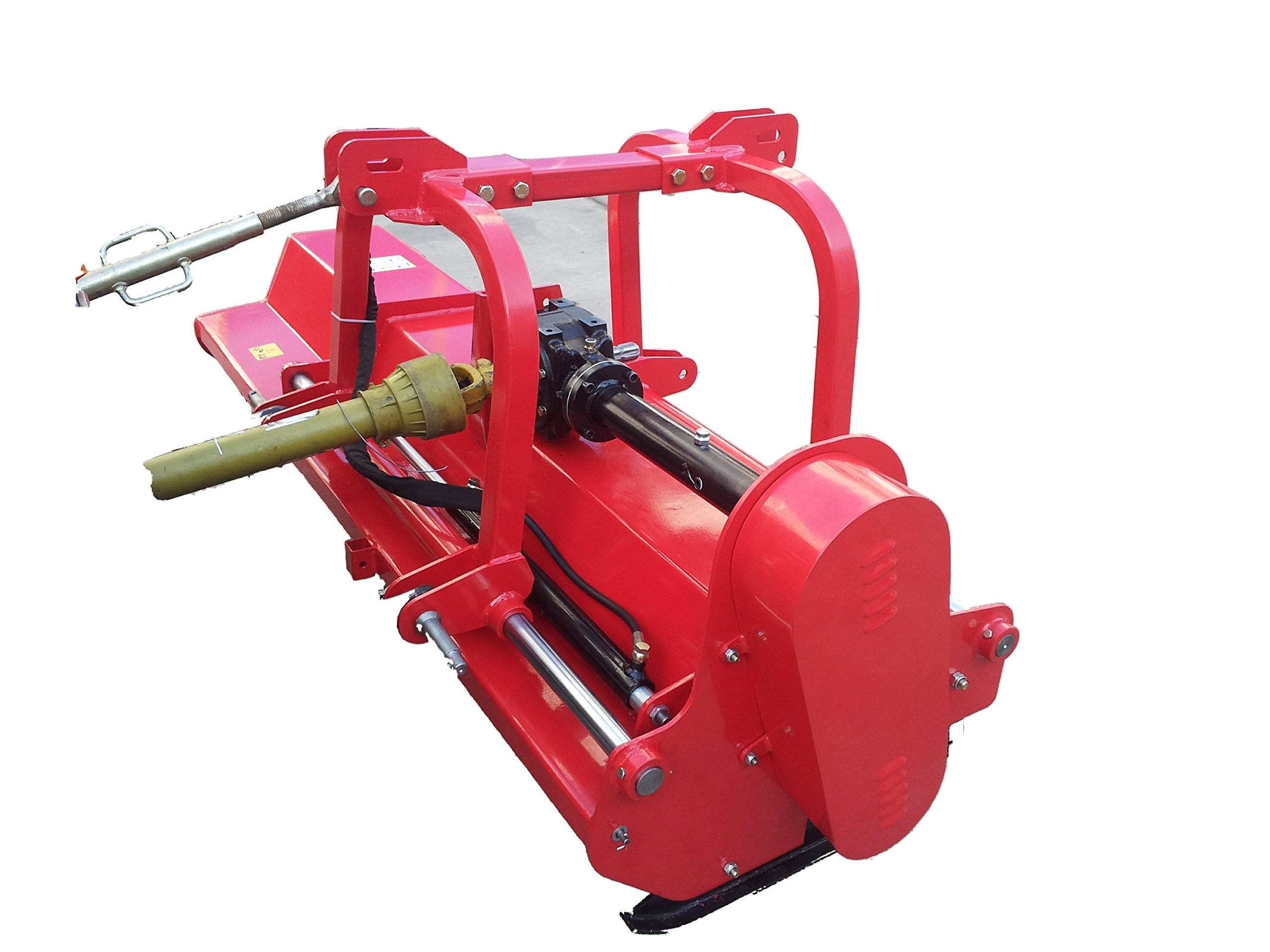 Farmer Helper 79'' 3pt Flail Mower/Mulcher w/Hydraulic Offset ~Cat.I/II 3pt 45+HP Rating (FH-AG200)