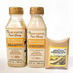 Creme of Narture Pure Honey Shampoo & Conditioner with Shea Butter