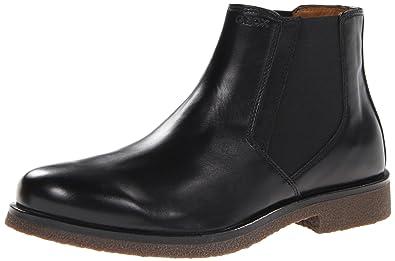 Geox Uomo Claudio Mens Chelsea Boots Black Black 65 UK 40 EU  Amazoncouk Shoes  Bags