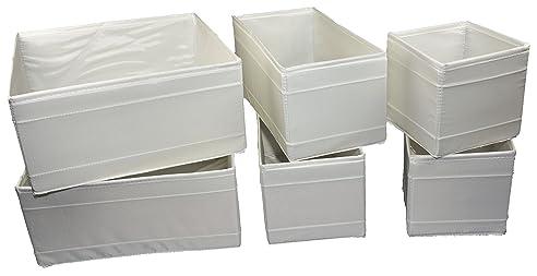 Aufbewahrungsboxen Ikea ikea 6 er set aufbewahrungsboxen skubb sechs kisten