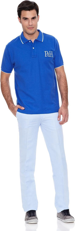 Pedro del Hierro Polo Big Logo Tips Azul L: Amazon.es: Ropa y ...