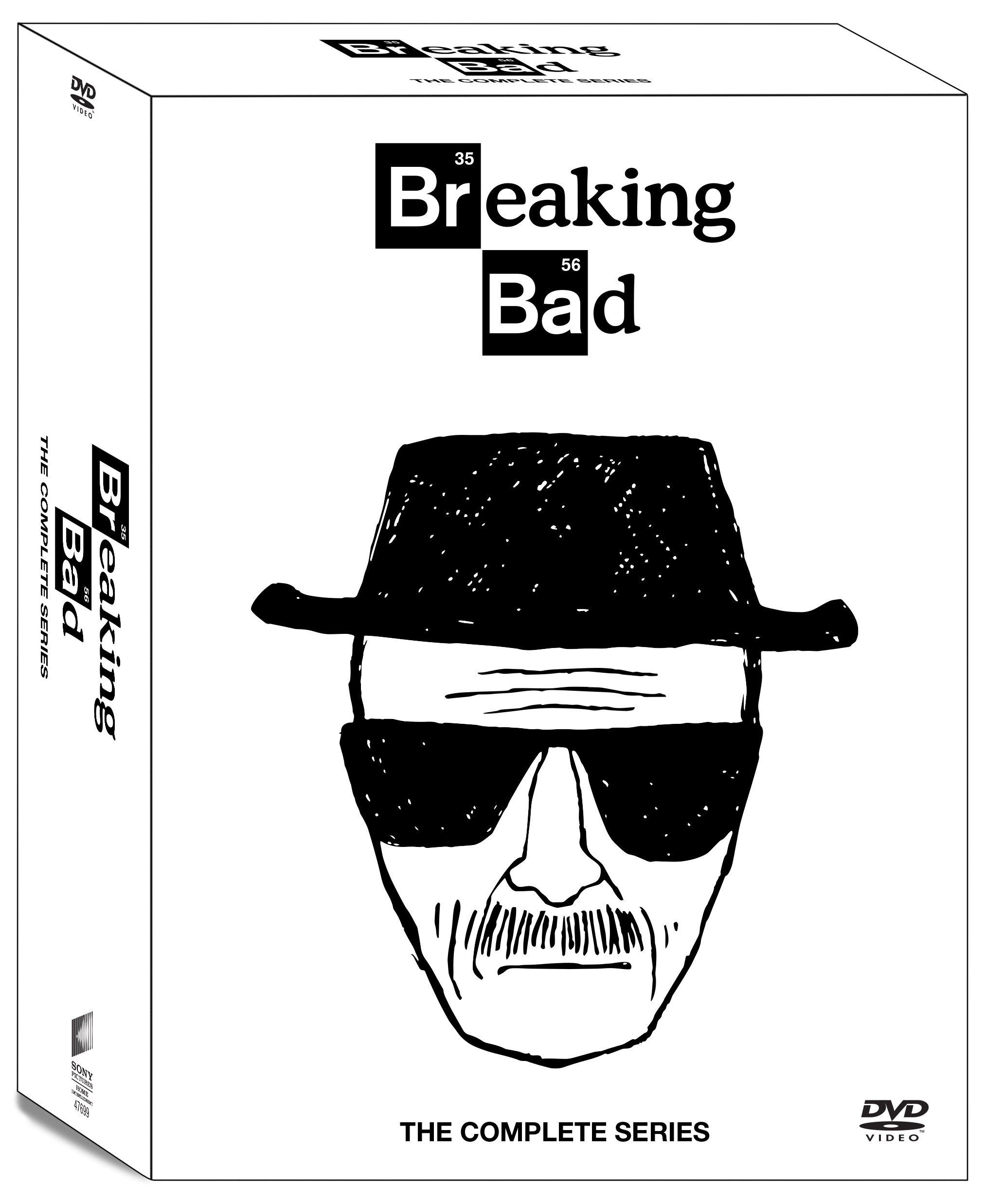 Breaking Bad: The Complete Series (16 Discs)