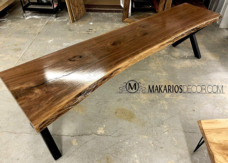Fabulous Amazon Com Home Bar Table Live Edge Sofa Table Behind Evergreenethics Interior Chair Design Evergreenethicsorg