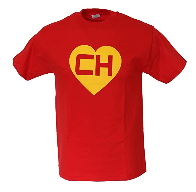 EL Chapulin Colorado EL Chavo CH Chespirito Mens Funny T Shirt Small Red