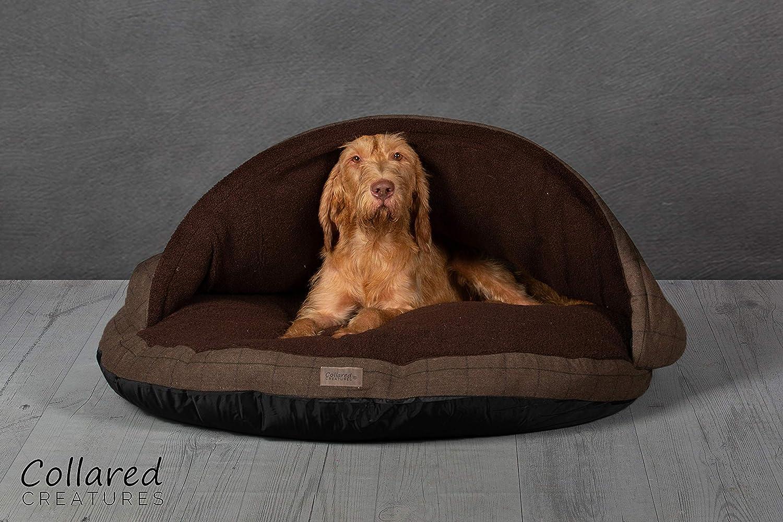 Collared Creatures Cama para Perro, Cama para Perro, Extra Grande, 1140 mm, Color marrón: Amazon.es: Productos para mascotas
