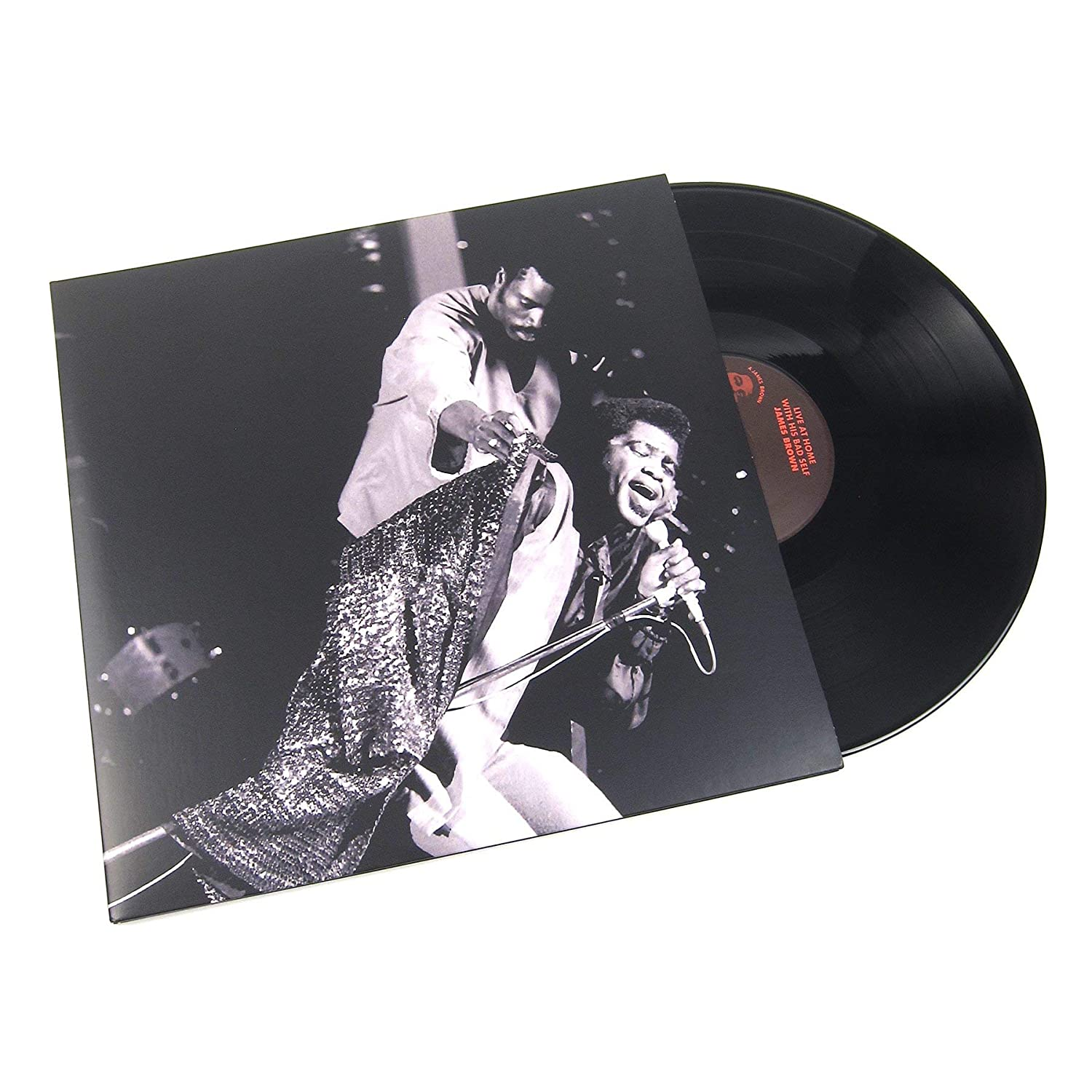 James Brown: Live At Home With His Bad Self Vinyl 2LP