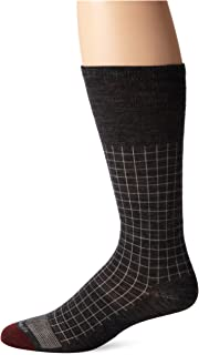 product image for Allen Edmonds Men's Merino Wool Blend Mid Calf Socks, Charcoal, X-Sock Size:10-13/Shoe Size: 6-12