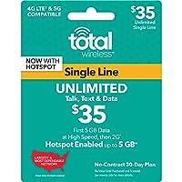 Total Wireless - $35 Prepaid Phone Card
