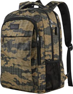 Camo Backpack, Camouflage Outdoor Travel Laptop Backpack for Travel  Accessories, Lightweight Durable School Bag 118c32bcdb