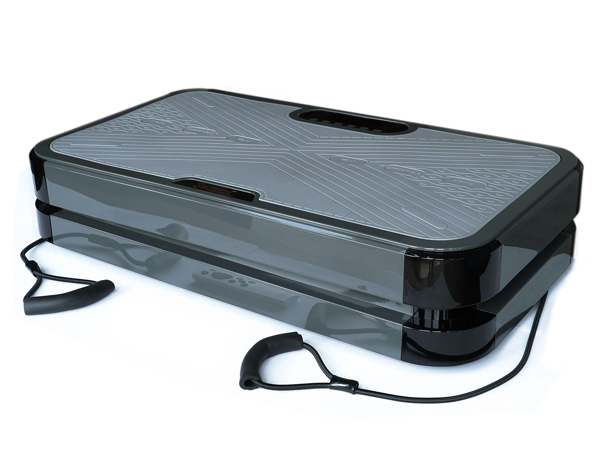 VT Full Body Vibration Platform Fitness Machine - Pivotal Oscillation - Fine Craftsmanship - Powerful yet Quiet - Bluetooth Speaker, VT020-3