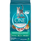 Purina ONE Sensitive Skin & Stomach With Real Turkey, Natural Adult Dry Cat Food