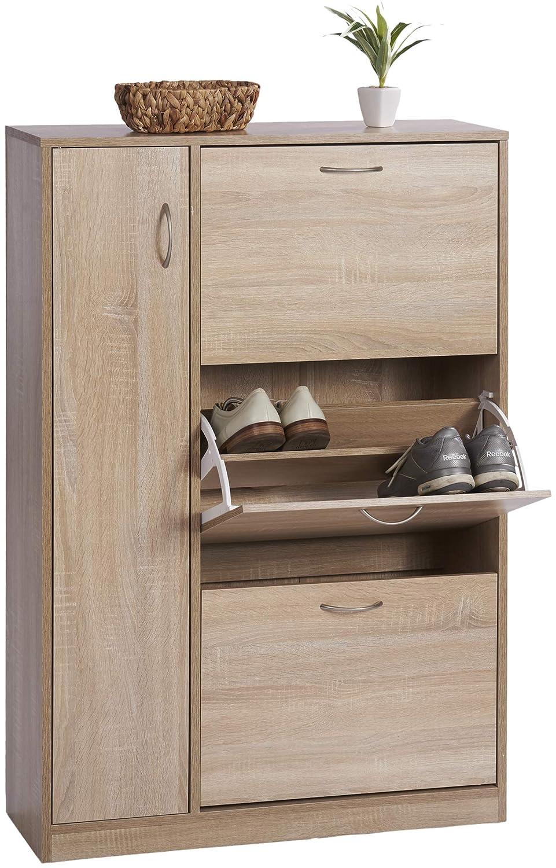 Kleideraufbewahrung 6 Tür 620 x 6 cm ts-ideen Schuhschrank Regal