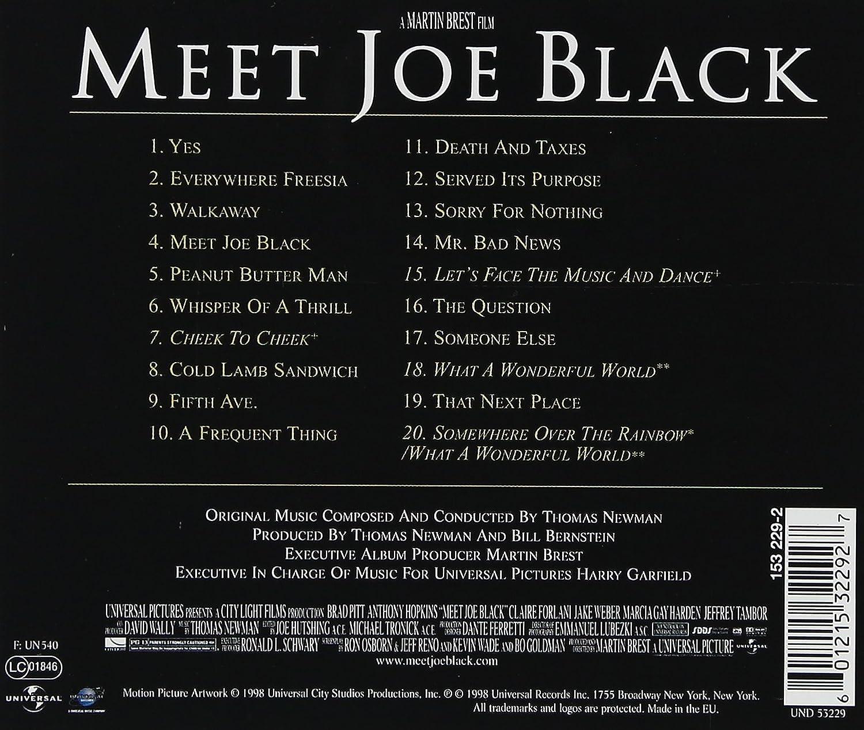 Musique du film Rencontre avec Joe Black - AlloCiné