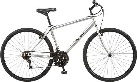 Pacific Bryson 700c 18 Bicicleta híbrida para Hombre, 18 Pulgadas ...