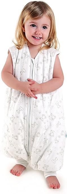 Saco de Dormir con Pies de Verano para Bebé Slumbersac aprox. 1 Tog - Oso - 12-18 meses: Amazon.es: Bebé