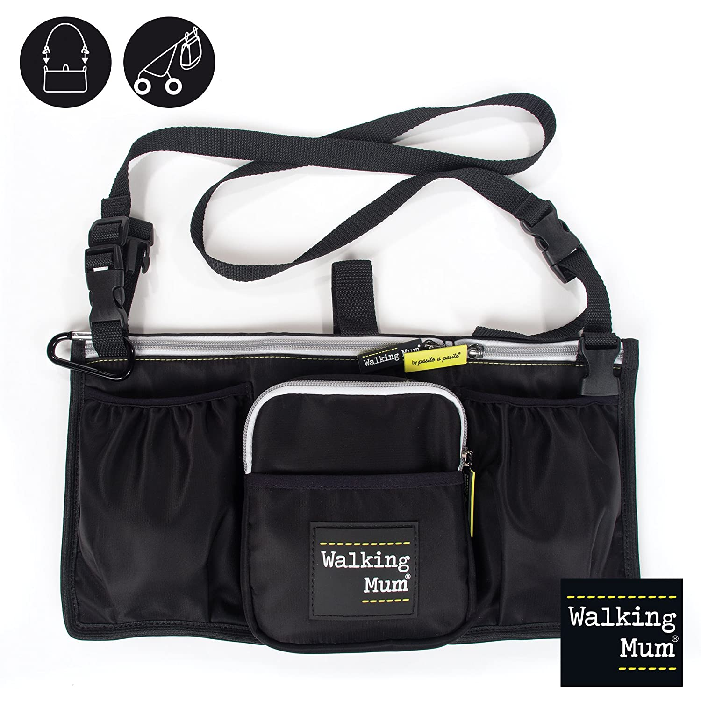 Walking Mum Urban Baby - Bolso organizador, color negro 35651